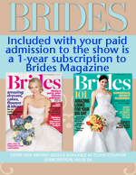 Register to receive subscription to Brides Magazine